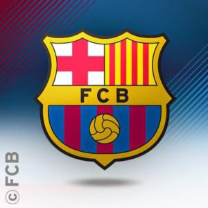 El Clasico Logo of FC Barcelona