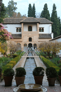Generalife fountains