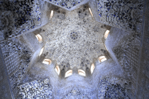 Hall of the Abencerrajes in Alhambra