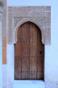 Small door in Nasrid Palace