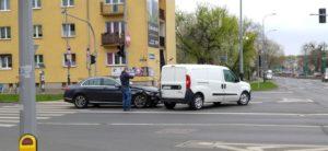 car collision poznan